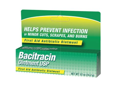 bacitracin 500u gram ointment merit pharmaceuticals