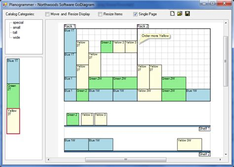 exles of layout tools godiagram winforms sles