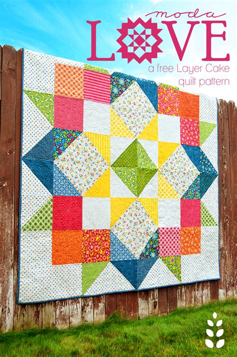 Free Quilt Patterns Moda by Best Day 409