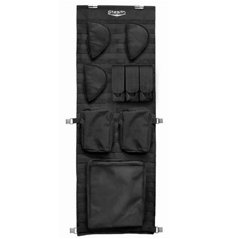 stack on gun door organizer stealth tactical molle gun safe door panel organizer small