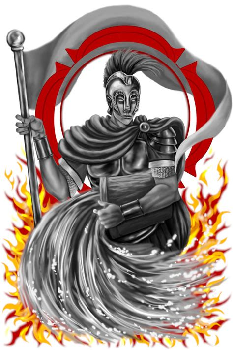 saint florian by misscyraf on deviantart