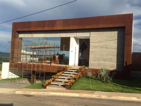 ferro corten casa do corten projetos e fachadas em a 231 o corten