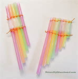14 drinking straw crafts moms crafters