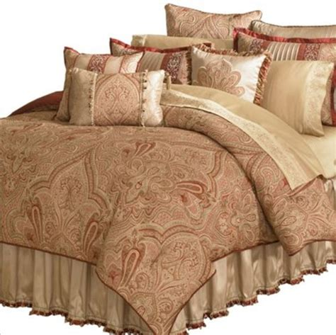 veratex 456831 castille 4 piece king comforter set new