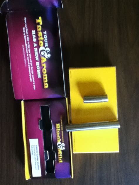 Black And Mild Giveaway - black and mild cigar tube free stuff times what i got