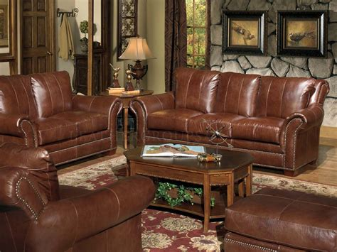 Leather Furniture Sets Leather Sofa Sets Leathergroups Com