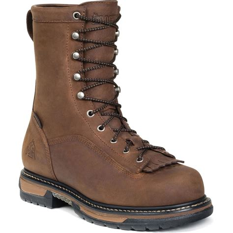 work boots rocky ironclad waterproof work boot qc supply