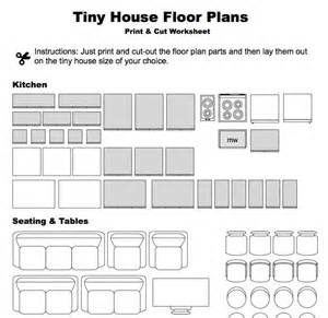 print cut floor plan worksheet small houses pinterest