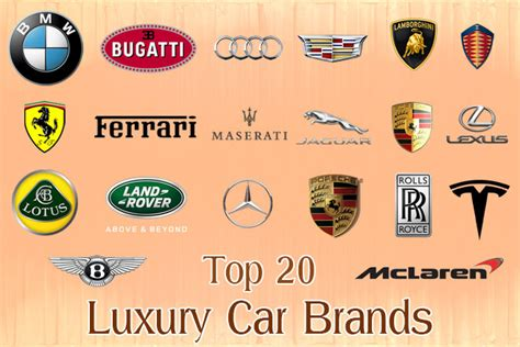 top  luxury car brands fine high living