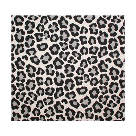 snow leopard upholstery fabric black gray big animal print fabric snow leopard white