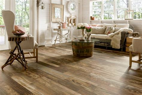 Scandanvian Design by Laminate Wood Floors Home Decoration