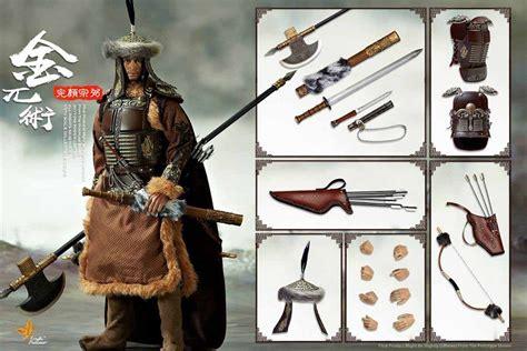 Pisau Set Q2 009 wanyanzongbi deluxe figure set 1 6 scale warrior jin wuzhu toys power ct009seta