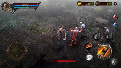 apk blood blood warrior apk obb review dan android