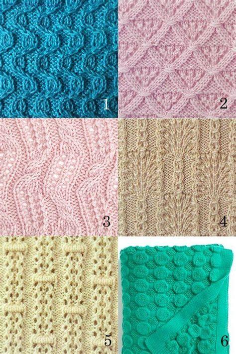 wrap stitch knitting six free knitting stitches patterns including the