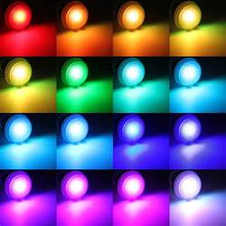 chagne colors e27 9w ir remote 16 color change rgb led