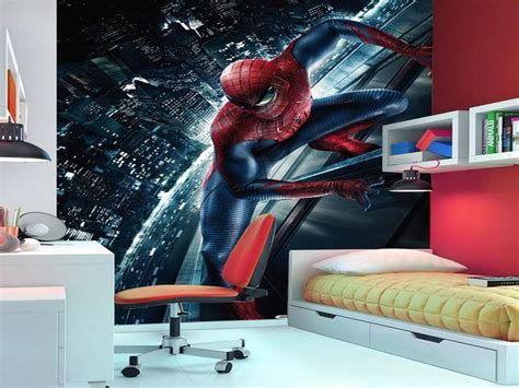 spiderman bedroom decor spiderman room decor style office and bedroom little