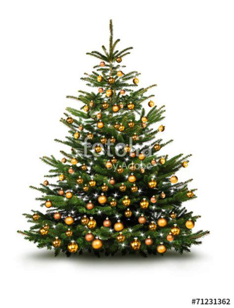 christbaum weihnachtsbaum quot christbaum mit goldenen kugeln quot stockfotos und