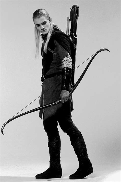 Black and White The Lord of the Rings orlando bloom The