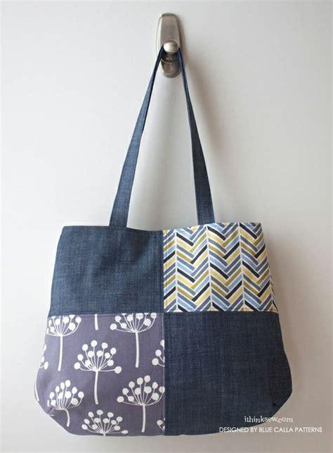 Denim Patchwork Bag Patterns Free - 1000 images about denim redo s on denim bag