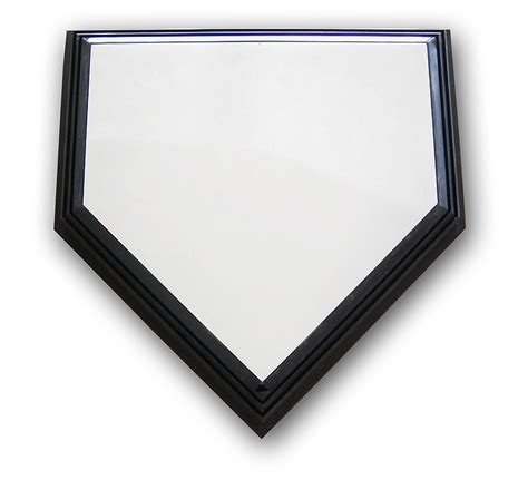 rogers break away one time baseball home plate