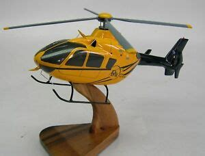 eurocopter ec 135 air helicopter wood model free shipping ebay