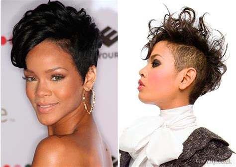 mohawk with shaved hairstyle for black women mohawk hairstyles for black women top 10 mohawk