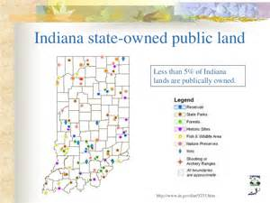 Michigan Public Land Map by Indiana S Wildlife Sustainable Natural Resources Task