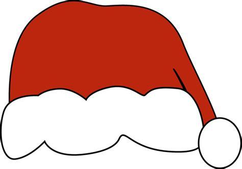big red santa hat clip art big red santa hat with white