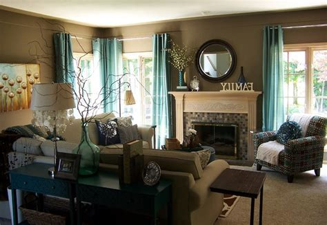 brown and teal living room ideas cream and chocolate teal room brown taupe bedding blue