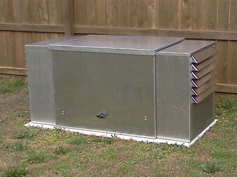 Generator Sheds For Sale by Powershelter Iii Enclosure For Storing And Running