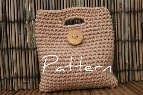 crochet pattern clutch purse crochet pattern womens big button clutch purse listing15