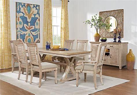 Rooms To Go Dining Table Sets Nantucket White 5 Pc Dining Room Dining Room Sets White