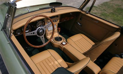 auto upholstery austin austin healey 3000 interior sports car interiors