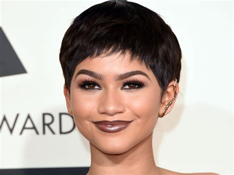 new stely hair 2015 zendaya coleman new hairstyle 2016