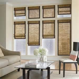 Roman Bamboo Shades - bali natural shades contemporary window blinds denver by blindsaver com