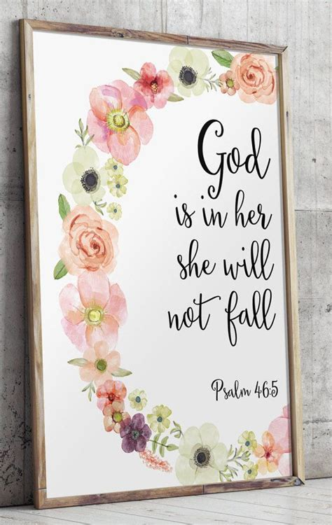 printable scripture wall art psalm 46 5 printable wall decor bible verses by