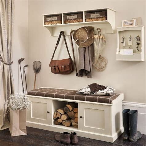 Hallway Storage Bench Storage Bench And Shelf From The Dormy House Hallway Storage Ideas 10 Of The Best