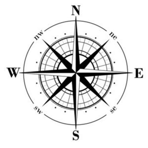 compass template printable compass free images at clker vector clip