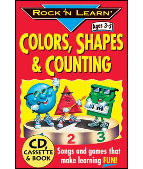 colors shapes and counting alternate image views rock n learn colors shapes