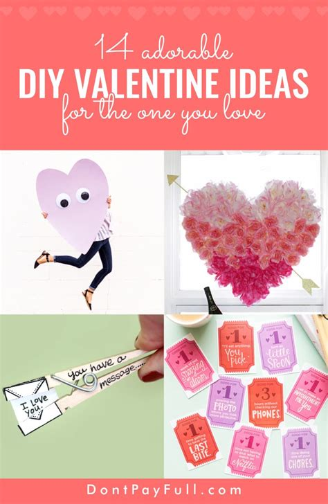 valentines day ideas 2017 14 adorable diy valentine s day ideas for the one you love