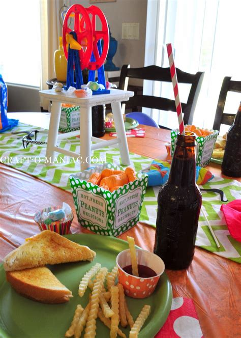 summer survival   kids throw  carnival themed lunch craft  maniac