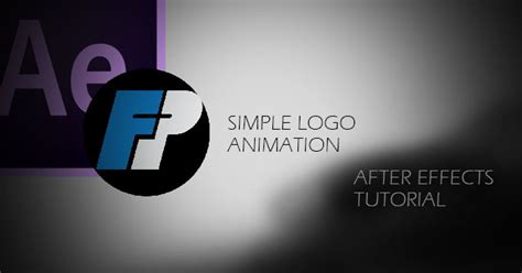 tutorial after effect logo after effects tutorial simple logo animation