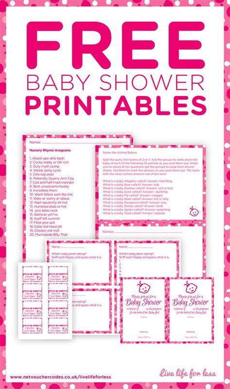 free printables baby shower games ideas 25 best ideas about free baby shower printables on