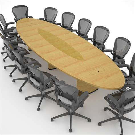 Oval Shaped Meeting Table Threshold Table Paul Downs Cabinetmakers