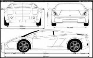 Lamborghini Dimensions Lamborghini Gallardo Dimensions 2017 Ototrends Net