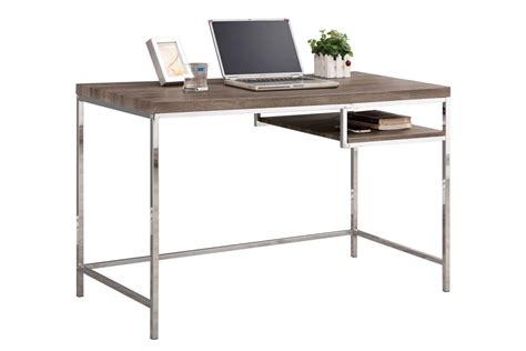 contemporary writing desk with shelf 801271 at gardner white