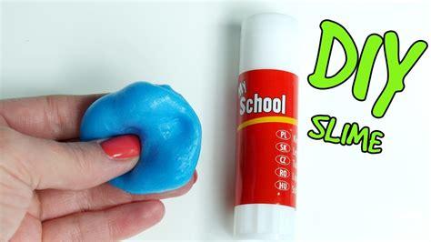 diy glue stick slime  borax    slime  glue stick