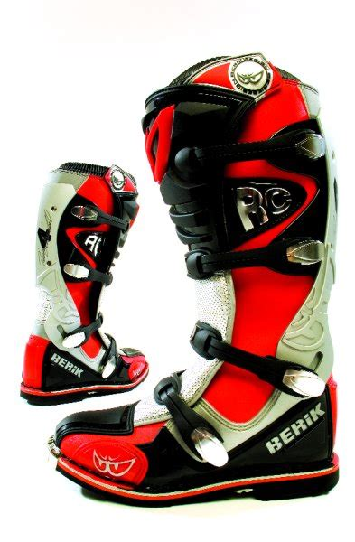 berik motocross boots motocross action magazine mxa product test berik rc ovs