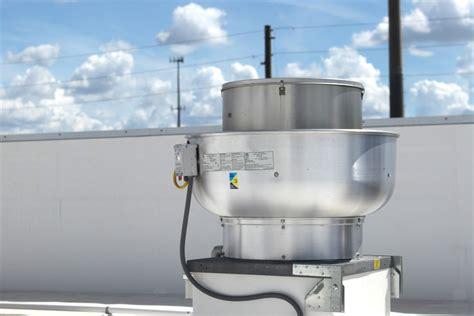 ventilation direct centrifugal upblast exhaust fan