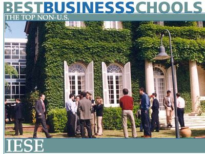 Nestle Pre Mba by The Top Non Us Business Schools